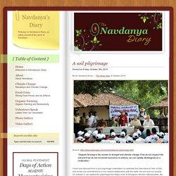 Navdanya's Diary » Blog Archive » A soil pilgrimage