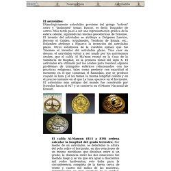 Historia: Navegación, astrolabio y cuadrante