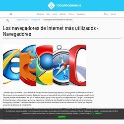 Los Navegadores De Internet Más Utilizados