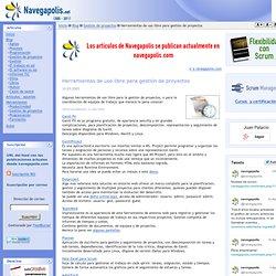 www.navegapolis.net - Herramientas de uso libre para gestión de proyectos