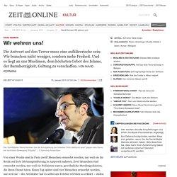 Navid Kermani: Wir wehren uns!