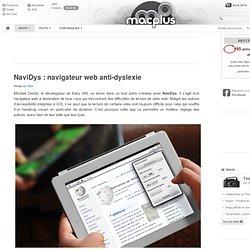 NaviDys: navigateur web anti-dyslexie