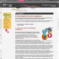 Test navigateur : Un site adapté à tous les navigateurs Internet
