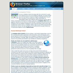 Votre guide du navigateur Firefox. Téléchargez maintenant!