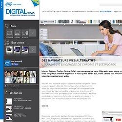 Des navigateurs web alternatifs