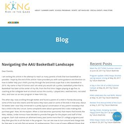 Navigating the AAU Basketball Landscape