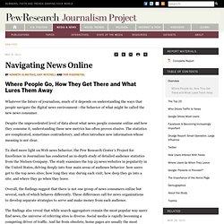 Navigating News Online