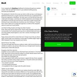 navigating WordPress dashboard - skyhostae