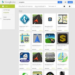 navigation - Google Play