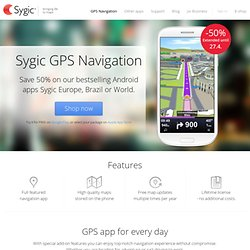 GPS Navigation for Android and iPhone