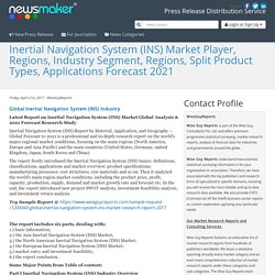 Inertial Navigation System (INS) Market Player, Regions, Industry Segment, Regions, Split Product Types, Applications Forecast 2021