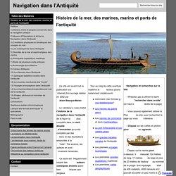 Navigation dans l'Antiquité