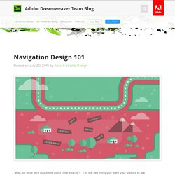 Navigation Design 101 : Adobe Dreamweaver Team Blog