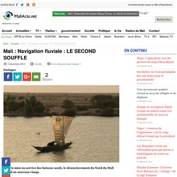 Navigation fluviale : LE SECOND SOUFFLE