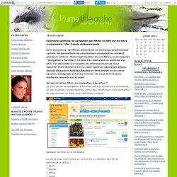 Comment optimiser la navigation par filtres en SEO sur les sites e-commerce ? Par 3 as du référencement