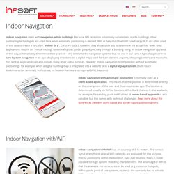 Indoor Navigation - solutions by infsoft