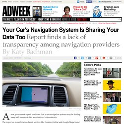 In-Car Navigation Systems Need Stronger Privacy Policies