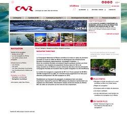 Navigation touristique - CNR Compagnie Nationale du Rhône