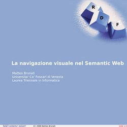 La navigazione visuale nel Semantic Web (1)