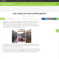 GéoLo Layar, naviguer sur le web en réalité augmentée