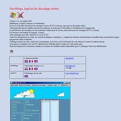 NavtMsgs, logiciel de décodage météo