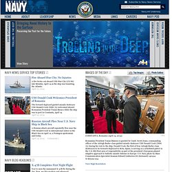 the Official Web Site of the United States Navy