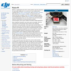 Naza-M - DJI Wiki