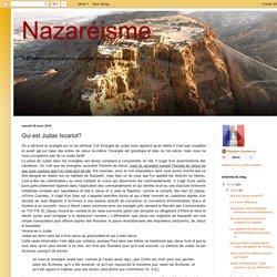 Nazaréisme : Qui est Judas Iscariot?