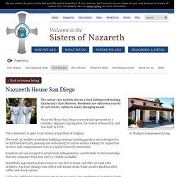 Nazareth House San Diego · Sisters of Nazareth