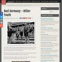 Website 1 (Nice and helpful) The Hitler Youth