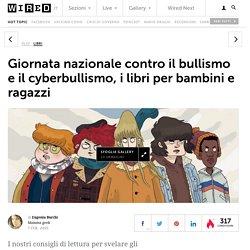 Giornata nazionale contro il bullismo e il cyberbullismo, i libri per bambini e ragazzi