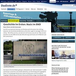 Nazis im BND - Geschichte im Ersten: Nazis im BND