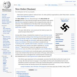 New Order (Nazism)