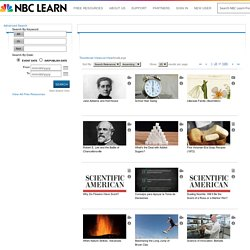 NBC Learn Search