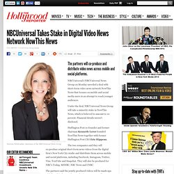 NBCUniversal Takes Stake in Digital Video News Network NowThis News