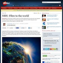 NBN: Fibre to the world