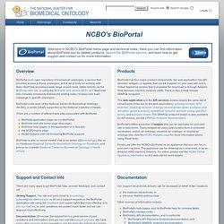 NCBO's BioPortal