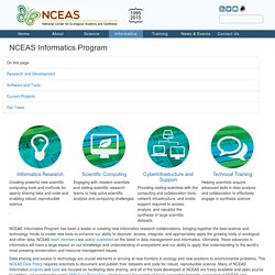 NCEAS Informatics Program