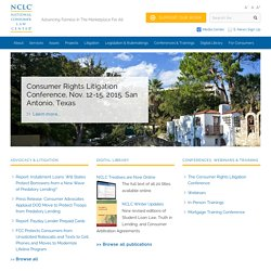 NCLC - National Consumer Law Center