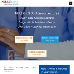 NCLEX-RN Bootcamp Lectures