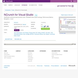 NCrunch for Visual Studio extension