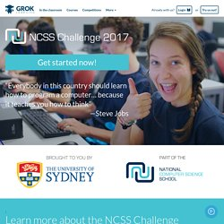 NCSS Challenge 2017