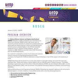 NDSEG - AEOP