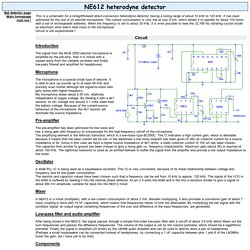 NE612 heterodyne detector