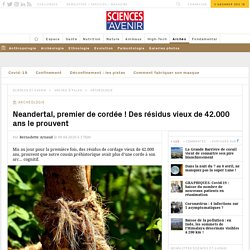 Neandertal, premier de cordée!