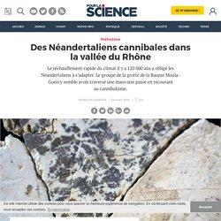 Des Néandertaliens cannibales dans la vallée du Rhône
