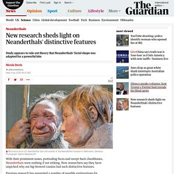 New research sheds light on Neanderthals' distinctive features