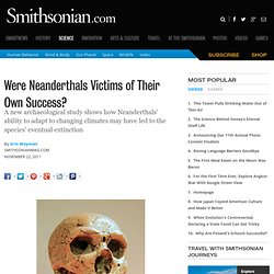Were Neanderthals Victims of Their Own Success? | Hominid Hunting