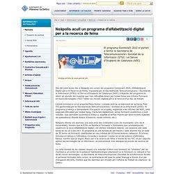 Neàpolis acull un programa d'alfabetització digital per a la recerca de feina