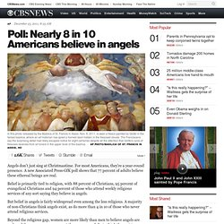 Poll: Nearly 8 in 10 Americans believe in angels